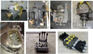 Opravy hydraulických čerpadel a rozvaděčů
